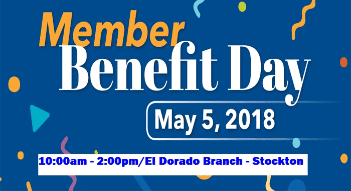 Member Benefit Day - May 5, 2018