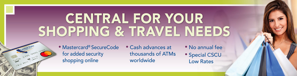 MasterCard - Central for Your Shopping & Travel Needs